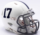 Penn State Nittany Lions 17 Speed Riddell Mini Football Helmet