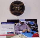 Pete Rose - Autographed Official Rawlings Black MLB League Baseball - PSA/DNA