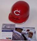 Pete Rose - Riddell - Autographed w/Hit King Batting Mini Helmet - Cincinnati Reds