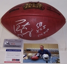 Peyton Manning - Autographed Official Wilson Super Bowl XLI NFL Football - PSA/DNA