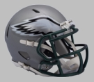 Philadelphia Eagles - Blaze Alternate Speed Riddell Mini Football Helmet