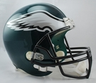 Philadelphia Eagles Riddell NFL Full Size Deluxe Replica Football Helmet