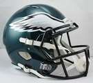 Philadelphia Eagles Riddell NFL Full Size Deluxe Replica Speed Football Helmet