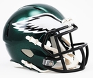 Philadelphia Eagles Speed Revolution Riddell Mini Football Helmet