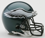 Philadelphia Eagles VSR4 Riddell Mini Football Helmet