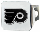 "Philadelphia Flyers NCAA 2"" Chrome Metal Tow Hitch Receiver Cover 3D"