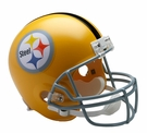 Pittsburgh Steelers 1962 Throwback Riddell NFL Full Size Deluxe Replica Football Helmet