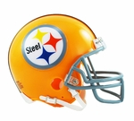 Pittsburgh Steelers 1962 Throwback VSR4 Riddell Mini Football Helmet