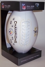 Pittsburgh Steelers 6x Super Bowl Champs Signature Series Team Logo Full Size Footballs