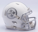 Pittsburgh Steelers - ICE alternate Speed Riddell Mini Football Helmet