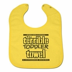 Pittsburgh Steelers Myron Cope The Terrible Toddler Towel Bib