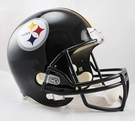 Pittsburgh Steelers Riddell NFL Full Size Deluxe Replica Football Helmet