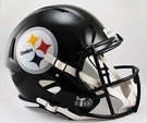 Pittsburgh Steelers Riddell NFL Full Size Deluxe Replica Speed Football Helmet