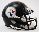Pittsburgh Steelers Speed Revolution Riddell Mini Football Helmet