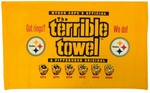 Pittsburgh Steelers Terrible Towel 6X Super Bowl Champions - Got Rings?