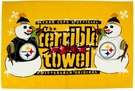 Pittsburgh Steelers Terrible Towel Holiday Snowman