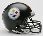 Pittsburgh Steelers VSR4 Riddell Mini Football Helmet