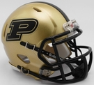 Purdue Boilermakers Speed Riddell Mini Football Helmet