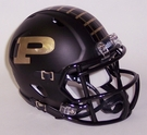 Purdue Boilermakers Speed Revolution Riddell Mini Football Helmet