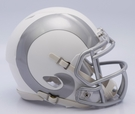 Rams - ICE alternate Speed Riddell Mini Football Helmet