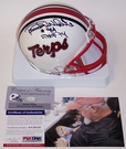 Randy White - Riddell - Autographed Maryland Terrapins Mini Helmet - PSA/DNA