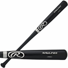 "Rawlings 34"" Adult Full Size Pro Black Baseball Bat - Model Number:  212BAPSIG-34"