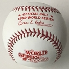 Rawlings Official 1980 World Series Game Baseball - Model Number: WSBB80