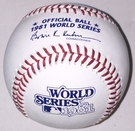 Rawlings Official 1981 World Series Game Baseball - Model Number: WSBB81