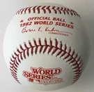 Rawlings Official 1982 World Series Game Baseball - Model Number: WSBB82
