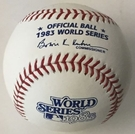 Rawlings Official 1983 World Series Game Baseball - Model Number: WSBB83