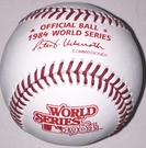 Rawlings Official 1984 World Series Game Baseball - Model Number: WSBB84
