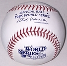Rawlings Official 1985 World Series Game Baseball - Model Number: WSBB85