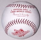 Rawlings Official 1990 World Series Game Baseball - Model Number: WSBB90