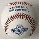 Rawlings Official 1995 World Series Game Baseball - Model Number: WSBB95