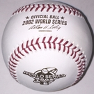 Rawlings Official 2002 World Series Game Baseball - Model Number: WSBB02