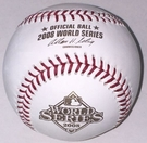 Rawlings Official 2008 World Series Game Baseball - Model Number: WSBB08
