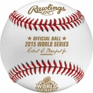 Rawlings Official 2015 World Series Game Baseball - Model Number: WSBB15
