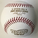 Rawlings Official 2004 World Series Game Baseball - Model Number: WSBB04