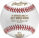 Rawlings Official 2017 World Series Game Baseball - Model Number: WSBB17