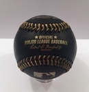 Rawlings Official Major League Memorabilia Black Baseball - Model Number:  ROMLBBG