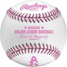 Rawlings Official MLB Mothers Day Pink Baseball - Model Number: ROMLB-PINK