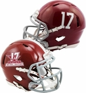 Alabama Crimson Tide 2017 National Champs Riddell Speed Mini Football Helmet