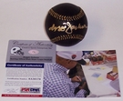 Reggie Jackson - Autographed Official Rawlings Black MLB League Baseball - PSA/DNA