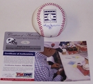 Reggie Jackson - Autographed Official Rawlings Hall of Fame MLB League Baseball - PSA/DNA
