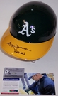 Reggie Jackson - Rawlings - Autographed Full Size Authentic Batting Helmet - Oakland Athletics - PSA/DNA