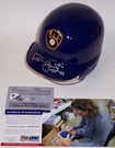 Robin Yount - Riddell - Autographed Batting Mini Helmet - Milwaukee Brewers - PSA/DNA
