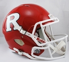 Rutgers Riddell NCAA Full Size Deluxe Replica Speed Football Helmet