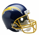 San Diego Chargers 1974-1987 Throwback Riddell NFL Full Size Deluxe Replica Football Helmet
