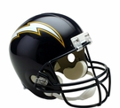 San Diego Chargers 1988-2006 Throwback Riddell NFL Full Size Deluxe Replica Football Helmet
