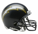 San Diego Chargers 1988-2006 Throwback VSR4 Riddell Mini Football Helmet